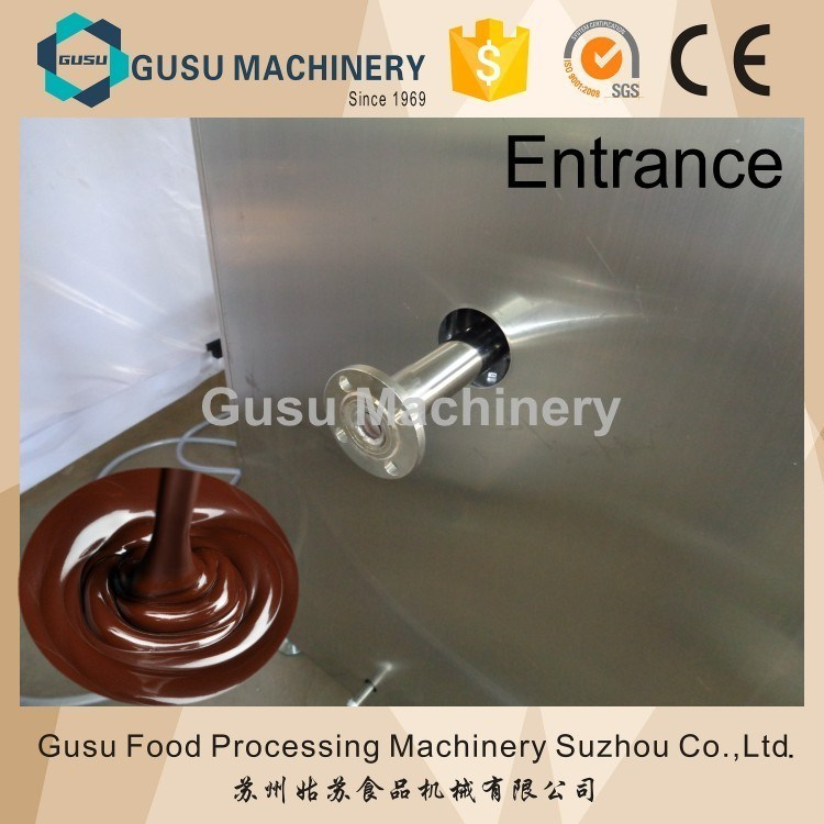 Ce Certified Energy Saving Snack Food Chocolate Tempering Machine