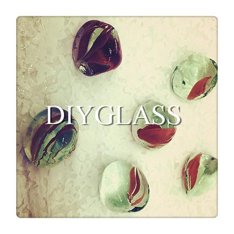 High Quality Blue Glass Gem