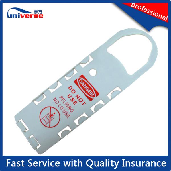High Quality Plastic Scaffold Tag Holder / Insert Card