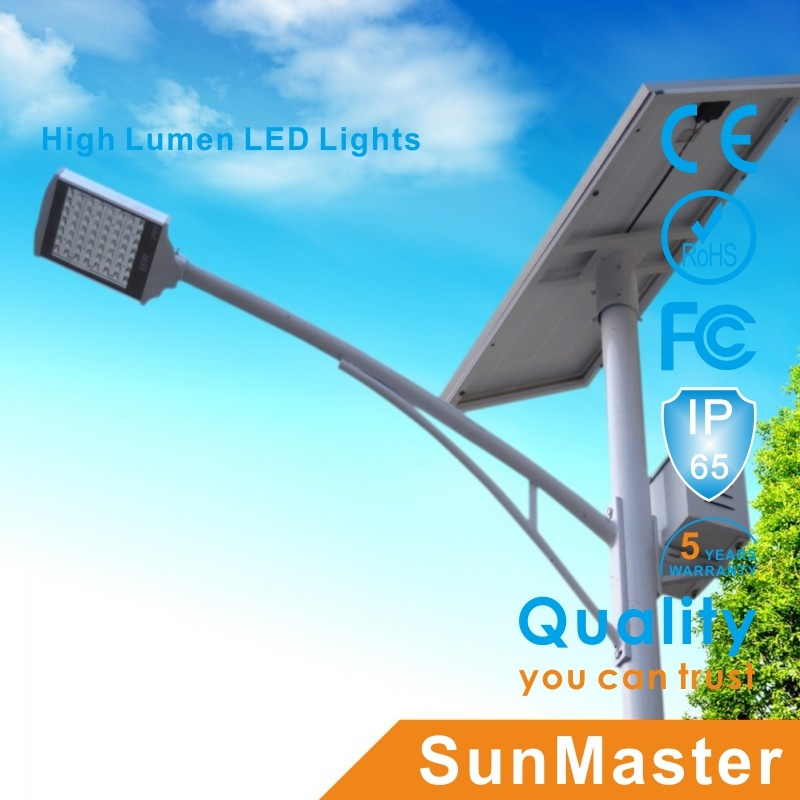 Outdoor 5m6m7m 8m Pole Solar Road Light Path Light Garden Light with Advertisement Box