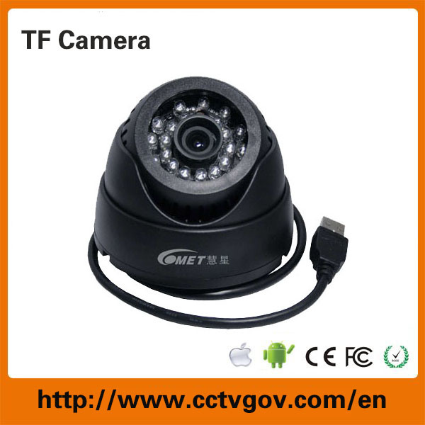 CCTV Surveillance Camera System Micro SD Card USB Plug