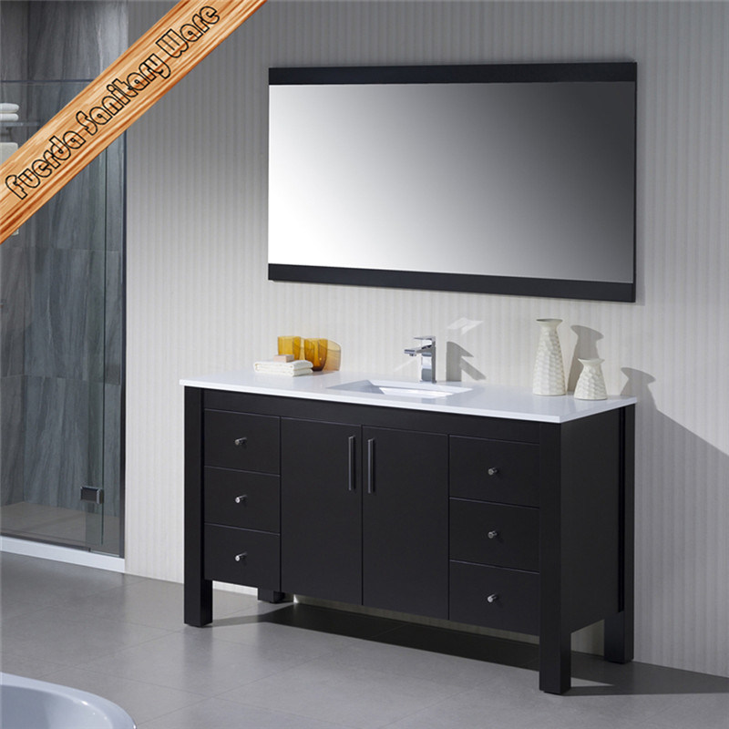 Fed-1169 Modern Solid Wood Bathroom Vanity Bathroom Cabinet