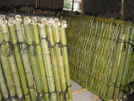 Wholesale Wood Plastic Garden Fence Bamboo