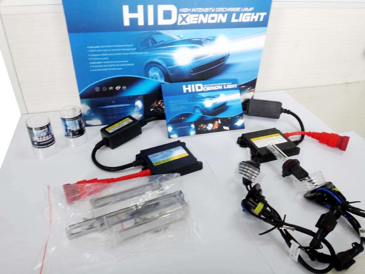 AC 55W H10 HID Light Kits with 2 Ballast and 2 Xenon Lamp
