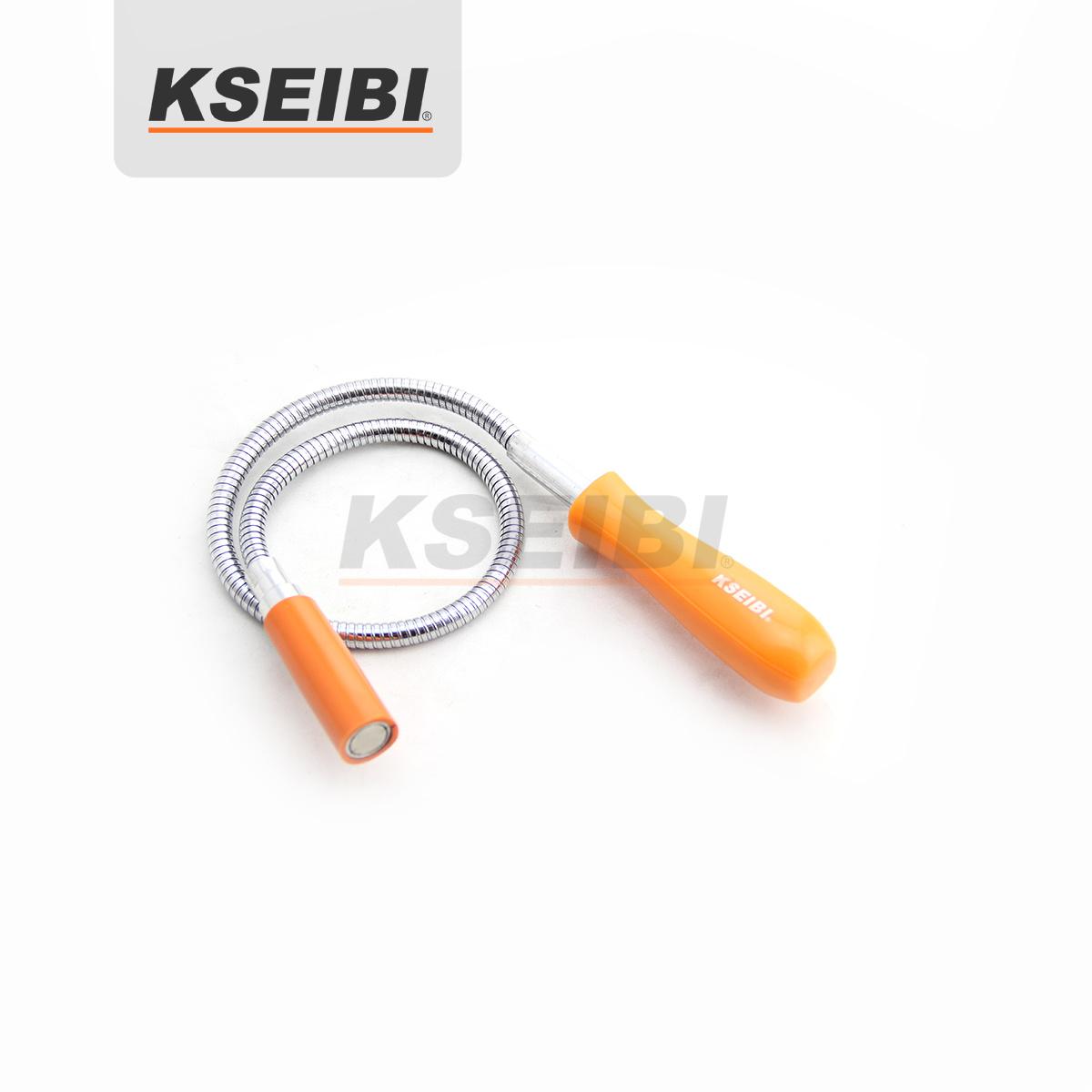 Plastic Handle Orange Color 5lb Magnetic Pick up Tool