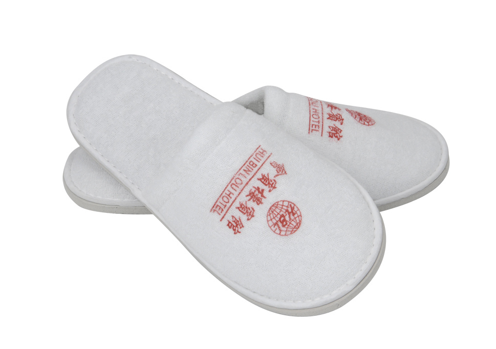 Terry slipper for Hotel with EVA Sole