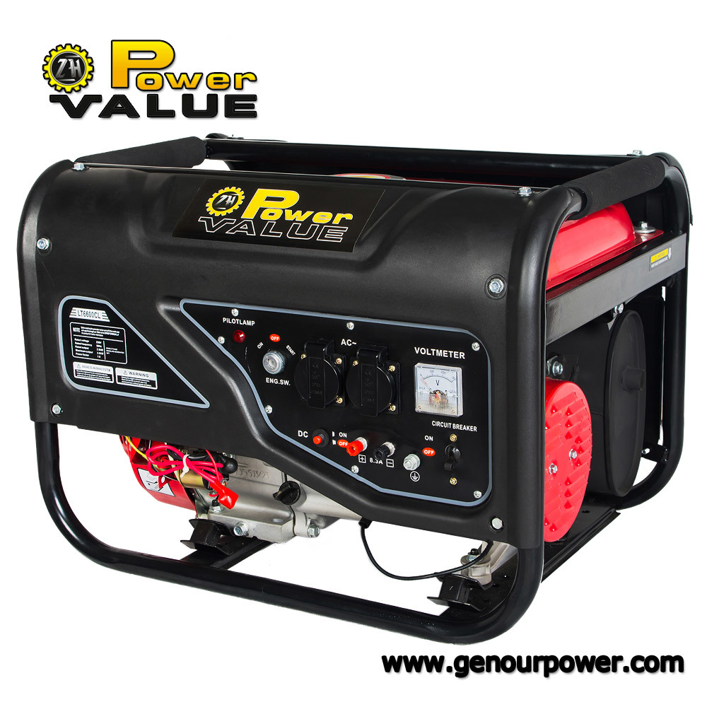 Low Price China Portable 2kVA 2.5kVA 2.8kVA 3kVA 4kVA 5kVA 6kVA LPG Generator (ZH2500LPLV)