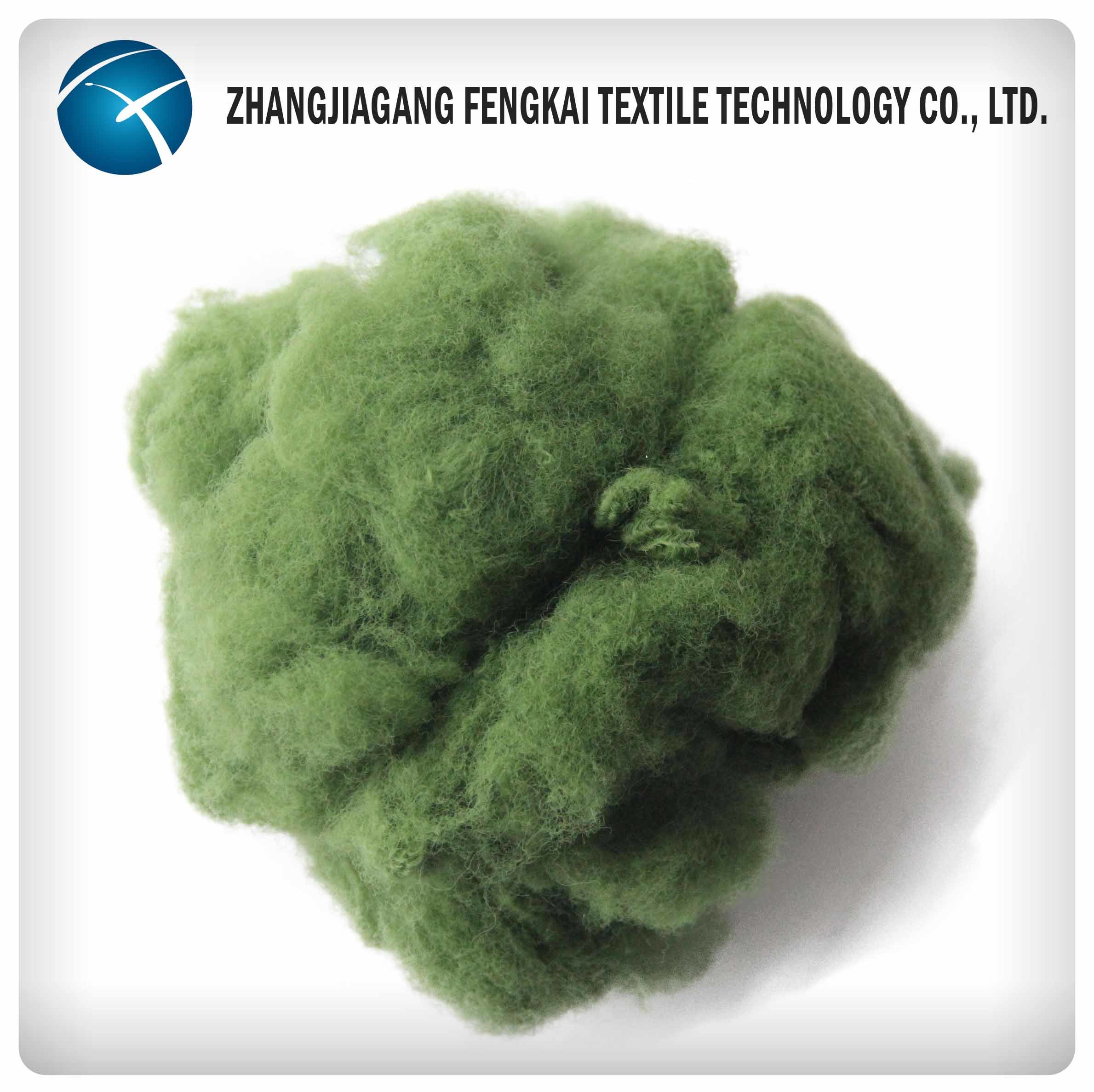 100% Recycled Polyester Staple Fiber
