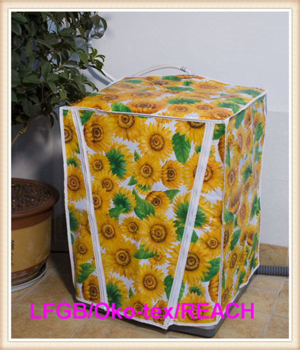 PVC Washing Machine Cover with Nonwoven Backing (TJ0072)