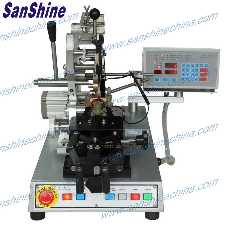 Automatic Middle Toroidal Coil Winding Machine (final coil OD 10~80mm) Replace Jovil Toroidal Winder (SS900B6)