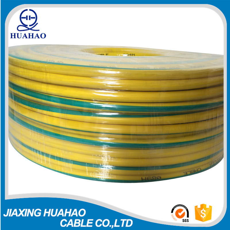 Yellow Green Copper Conductor Undeiground Wire