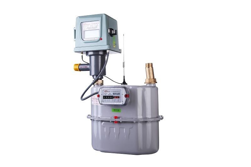 Prepayment IC Card Smart Industrial Gas Meter-G6/10/16/25/40/65/100