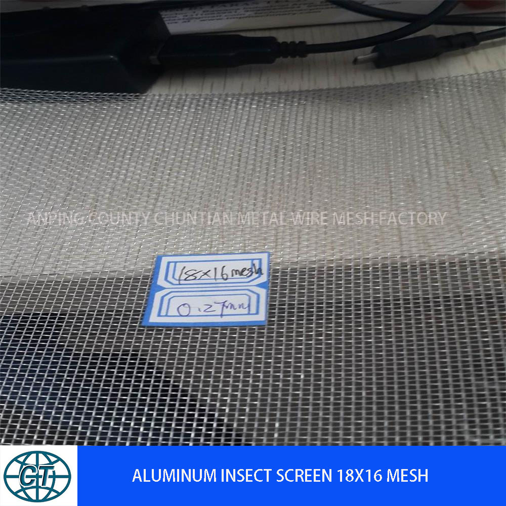 Aluminum Window Screen 18X14mesh/Anti Mosquito Screen
