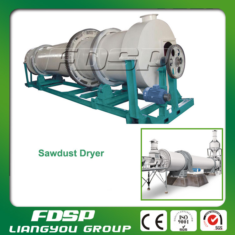 Energy Saving Rotary Drying Machine for Wood Pellet Production Line