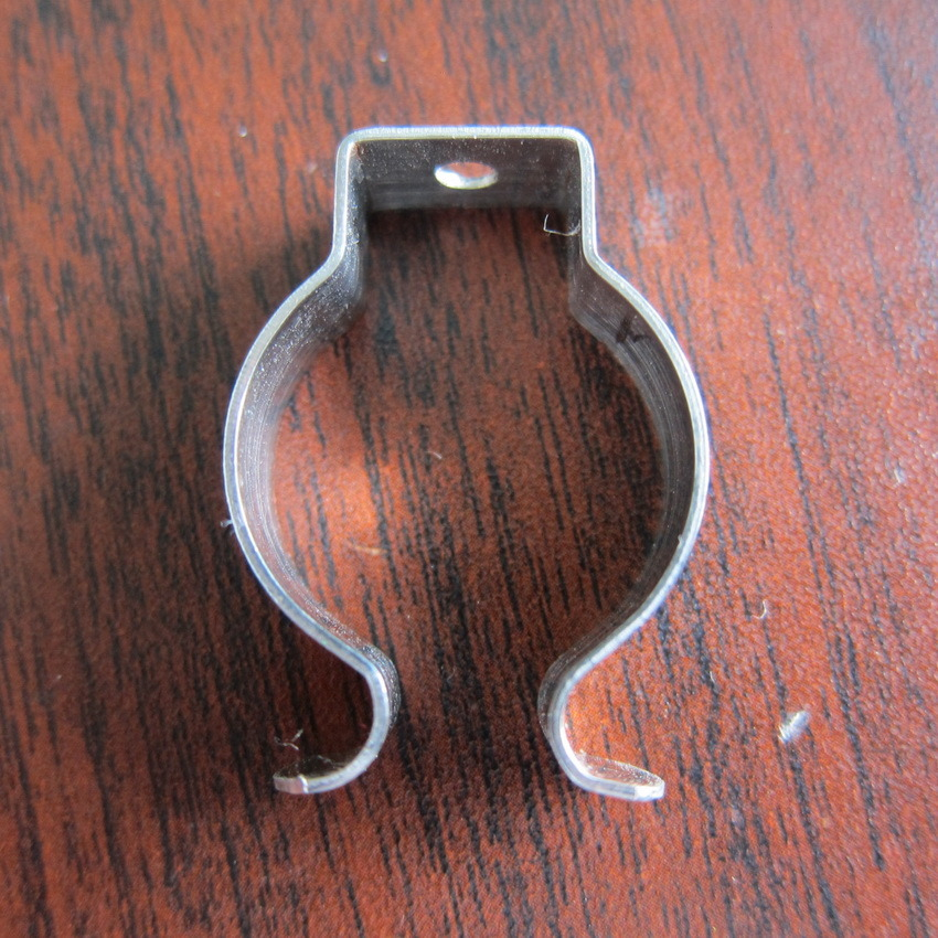 Plastic-Dipping Spring Contact Ceiling Lamp Mounting Bracket T8