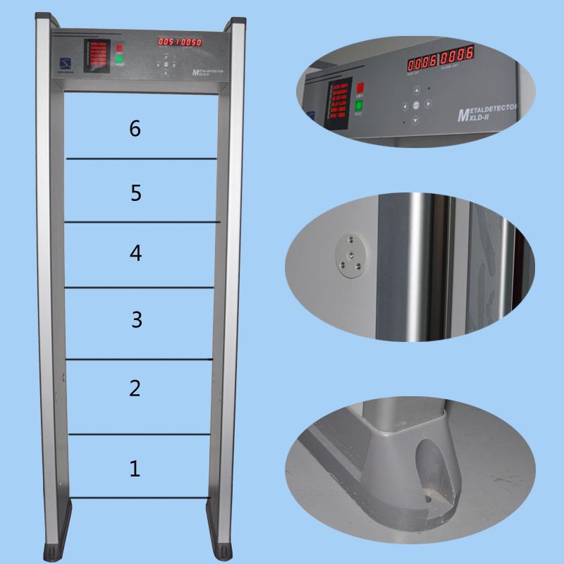 Factory Price High Sensitivity Door Frame Metal Detector Xld-II