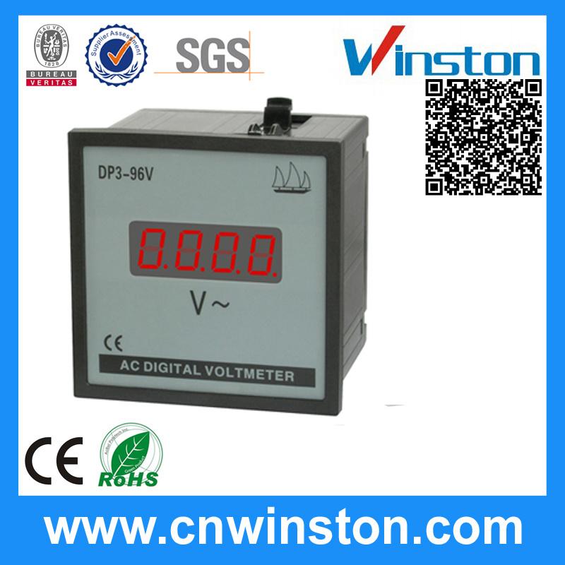 Dp96 Digital AC Voltmeter with CE