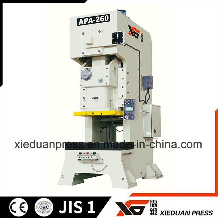 Stamping Production Line, C Frame Press, Feeder, Uncoiler, Straightener