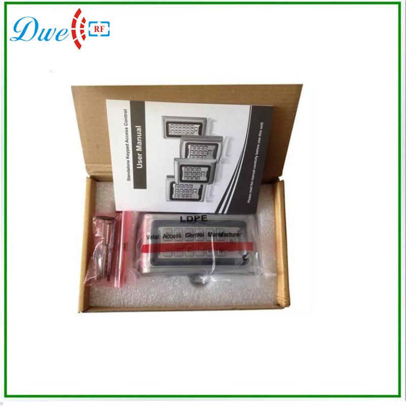 2000 User 125kHz Em ID Waterproof Metal Keypad RFID Door Standalone Access Controller
