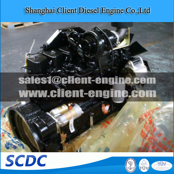 Top Quality Cummins Vehicle Engine for Bus and Truck