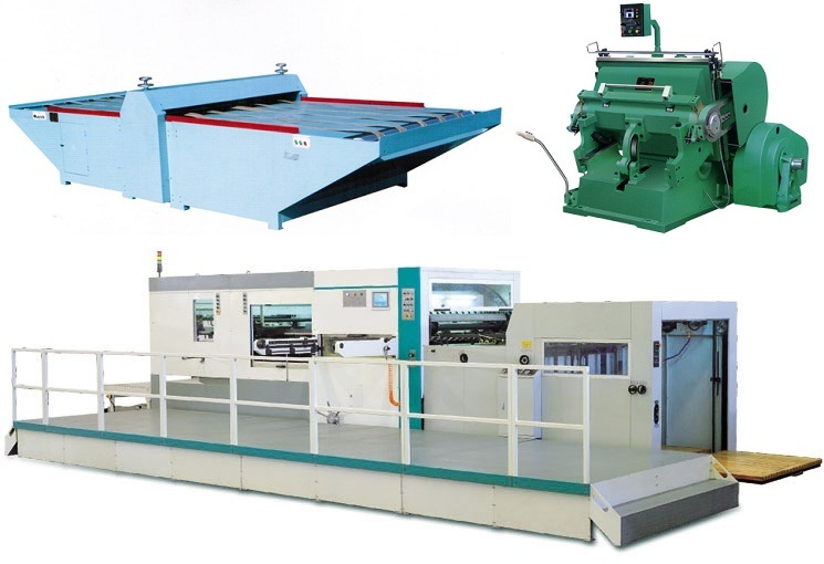 Flatbed Die-Cutter Machine for Corrugated Carbboard or Paper