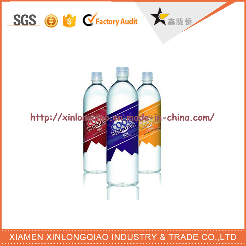 Custom Newest Mineral Water Bottle Sticker Label Printing Plastic Best