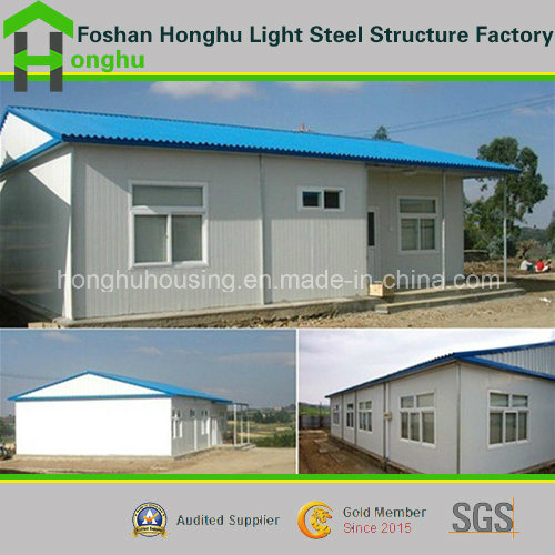 Light Steel Prefabricated Home High Quality Slop Roof House