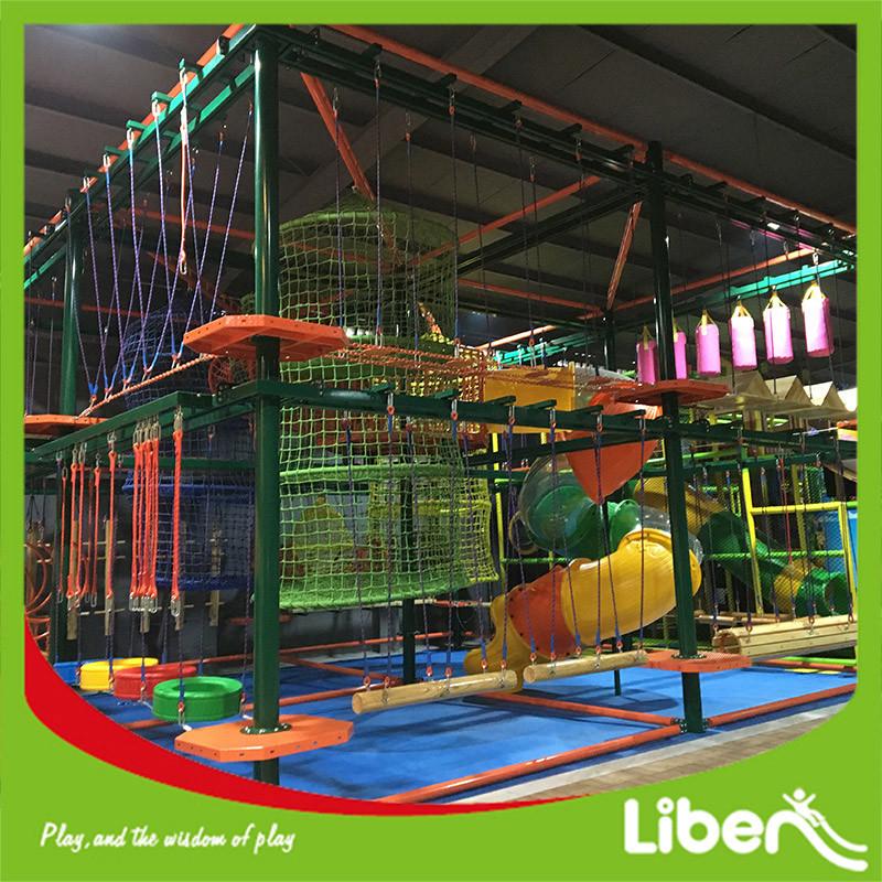 Indoor Playground Adventure Indoor Ropes Course