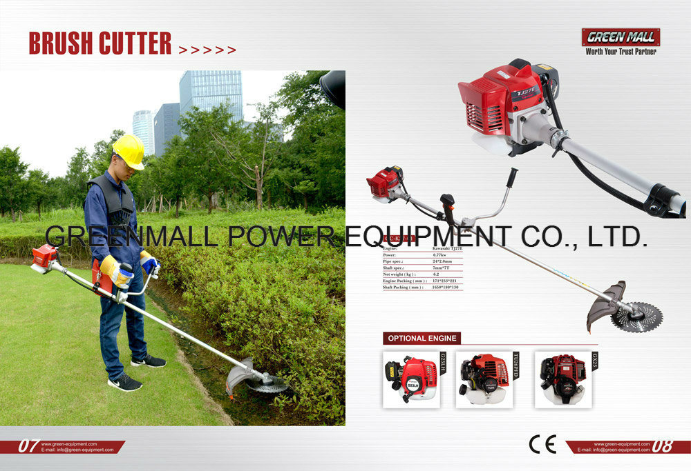 Brush Cutter Powered by Kawasaki Engine (TJ27E)
