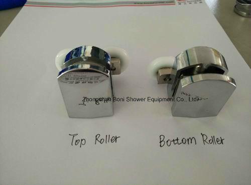 Bathroom 6mm Corner Entry Shower Enclosure