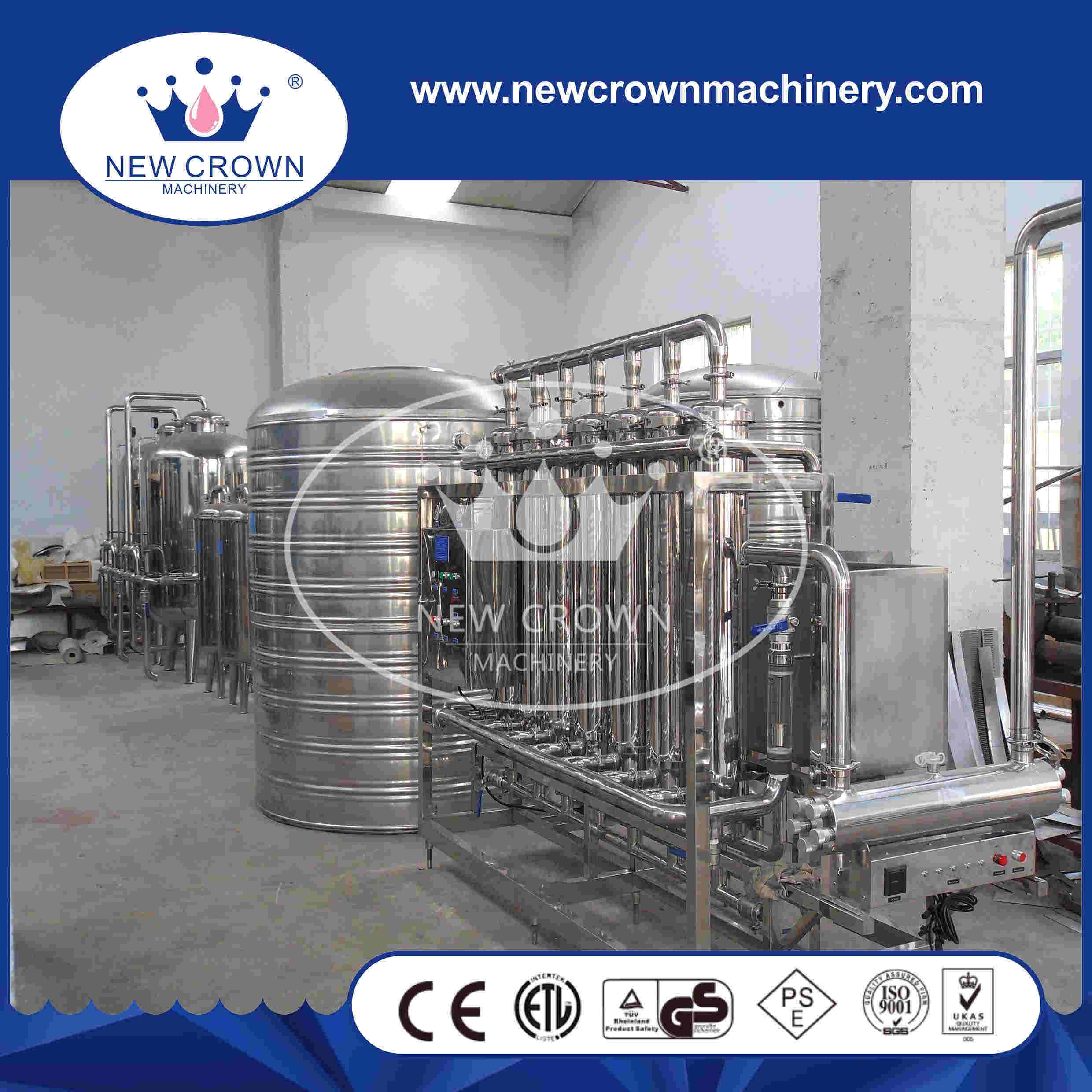 High Efficiency Mineral Water Filtration System