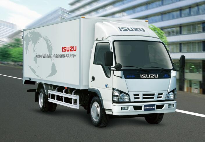 Isuzu 600p Single Row Light Van Refrigerator Truck
