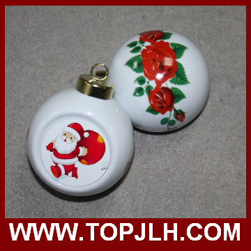 Sublimation Photo Transfer Printing Christmas Ball Ornament