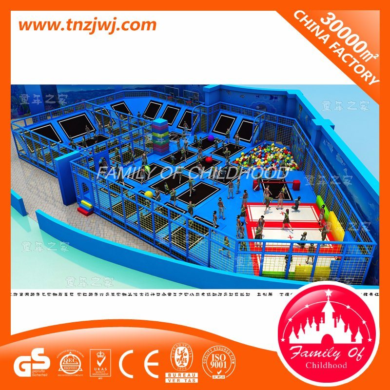 Commercial Indoor Amusement Trampoline Park Equipment for Mall