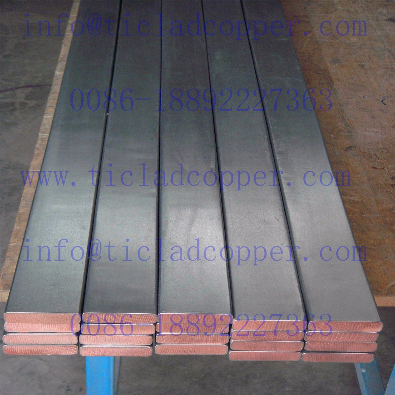 Titanium Clad Copper Bar for Copper Foil Electrowinning