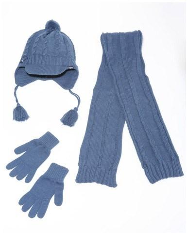 Winter Hat Acrylic Jacquard Beanie Hat Custom Knit Hat POM POM Beanie Hat with Scarf