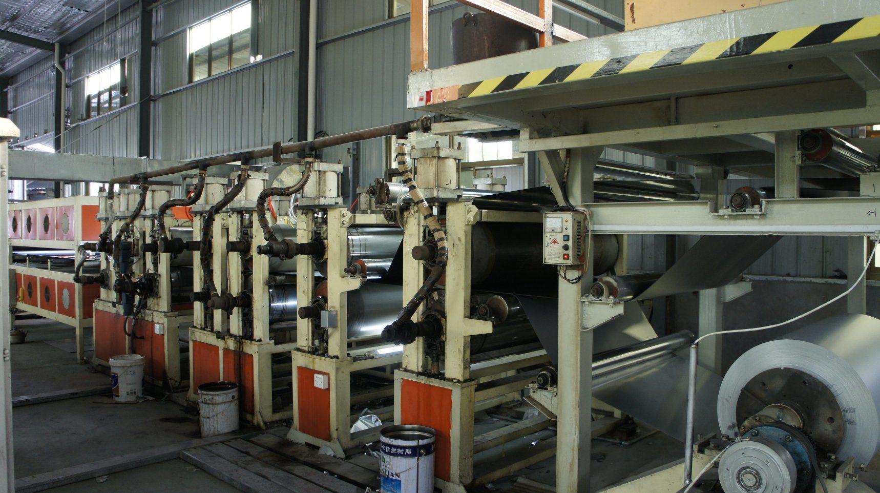 Aluminum-Plastic Composite Panel Production Line, Twin Screw Extruder