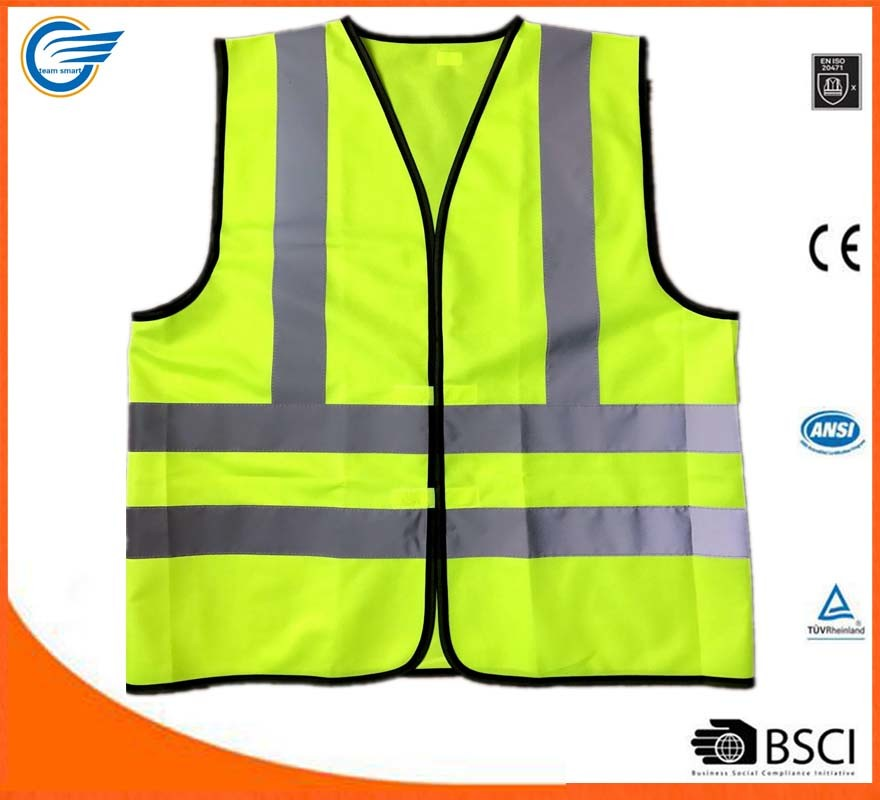 En20471 Workwear Warning Clothing for Fluorescent Emergency Clothing