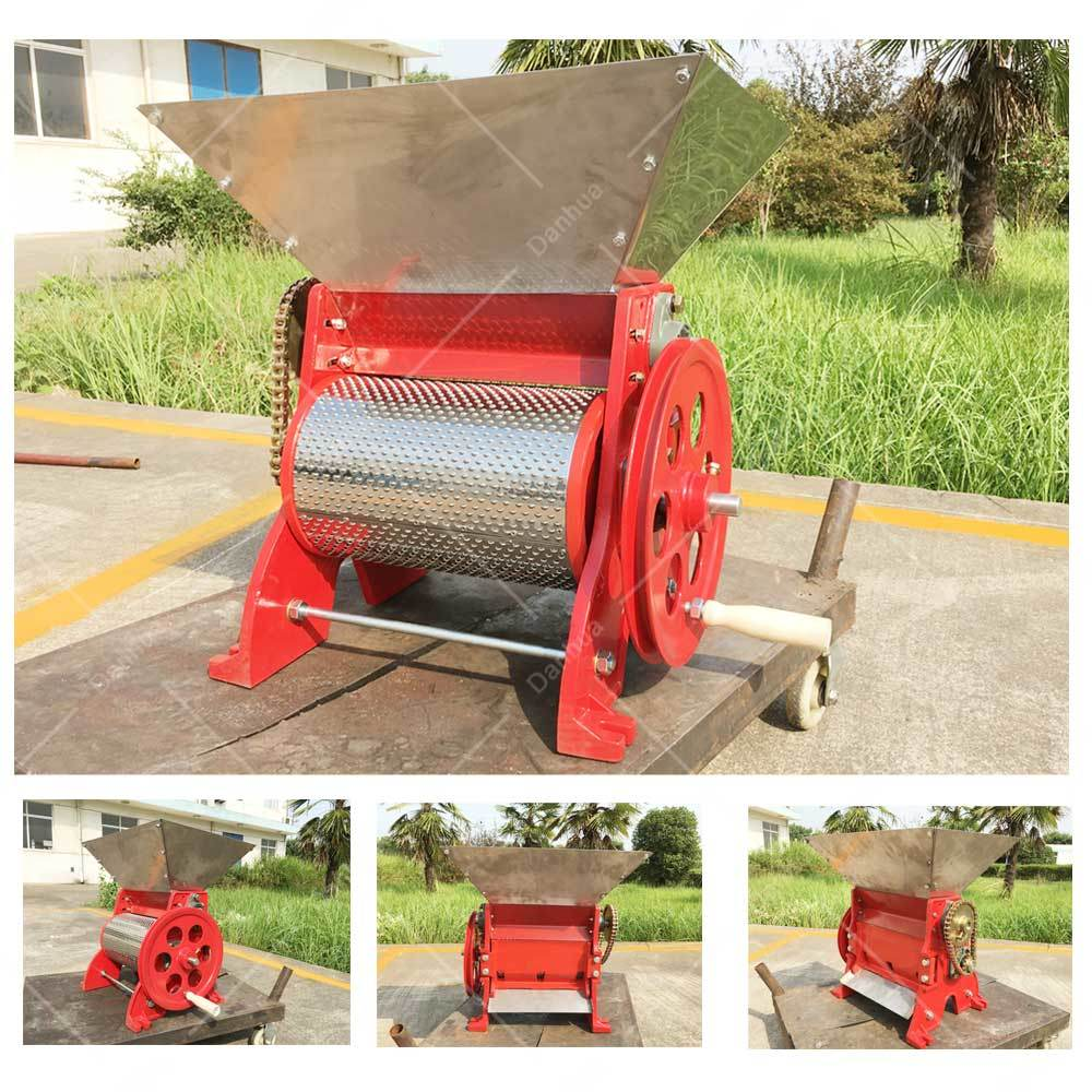 Big Capacity 3 Discharge Mouth Coffee Bean Pulper (Gasoline Engine)