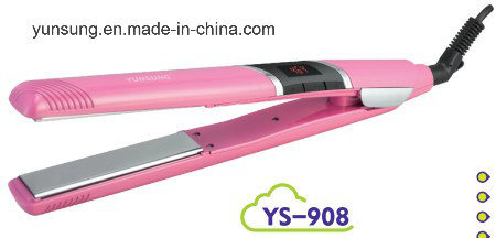 Professional Flat Iron Hair Straightener (YS-908)