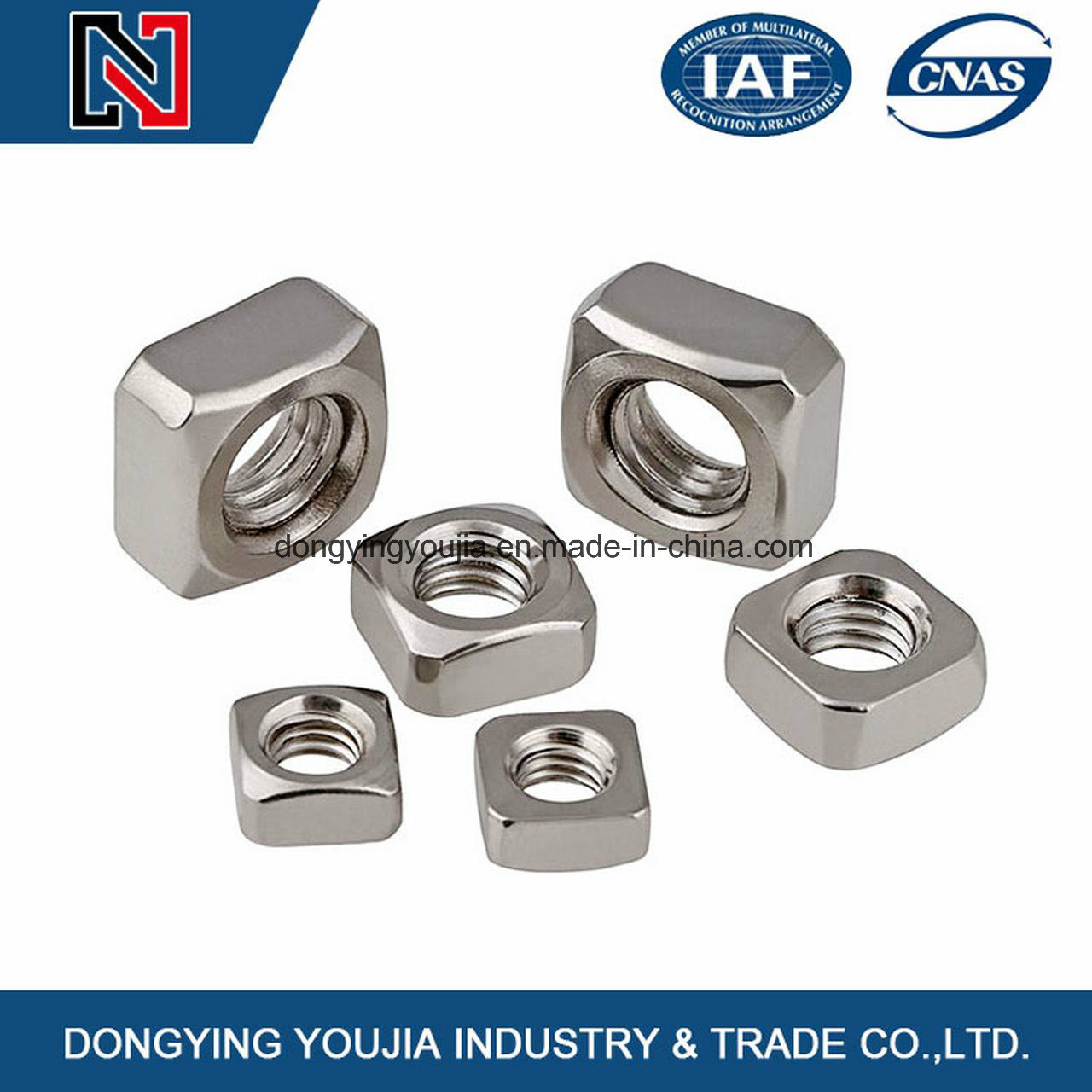 Stainless Steel Square Nut