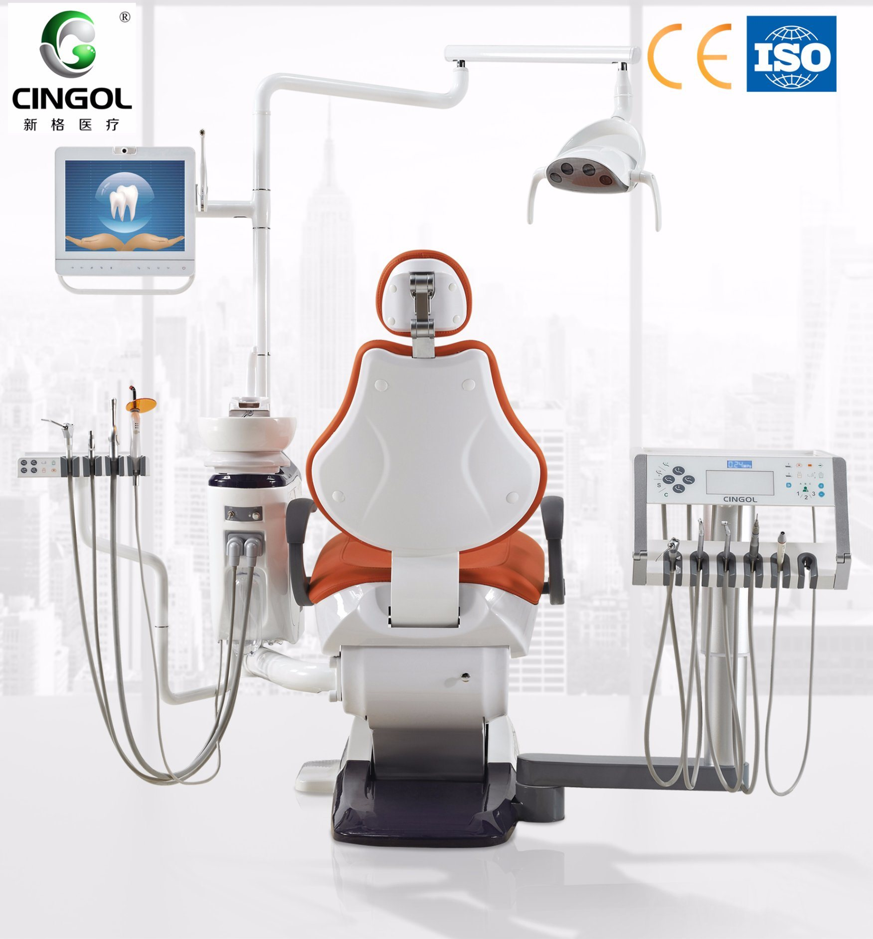 2017 Touch Sense Instrument Tray Dental Chair