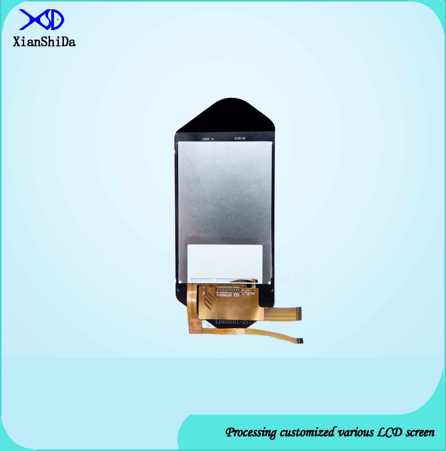 IPS Full Viewing Angle 3.5 Inch Vertical Display with Capacitive Touch Screen