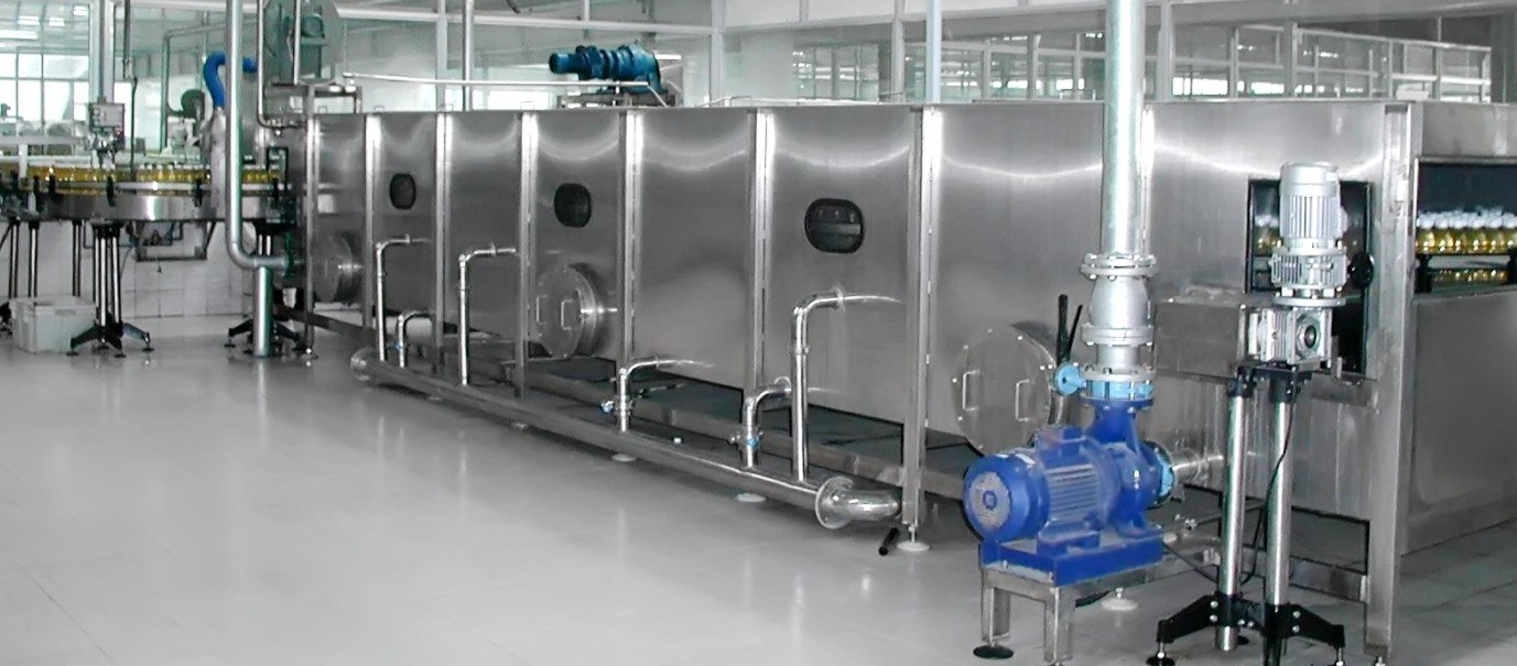 Tunnel Spraying Sterilizer