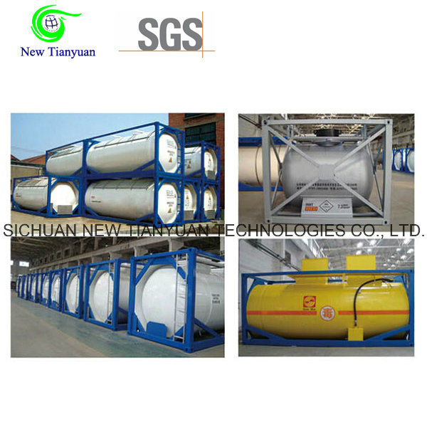 Ahf Cryogenic Container Tank with 21m3 Capacity