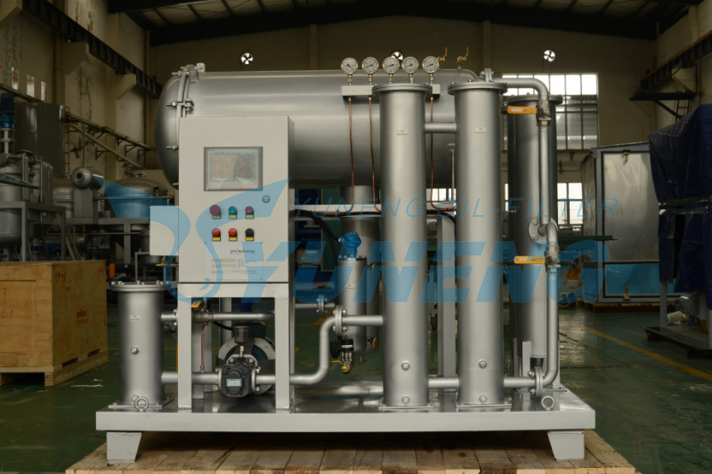 Yuneng Jt Series Online Automatic Operation Coalescing Dehydration and Separation Oil Filter Machine
