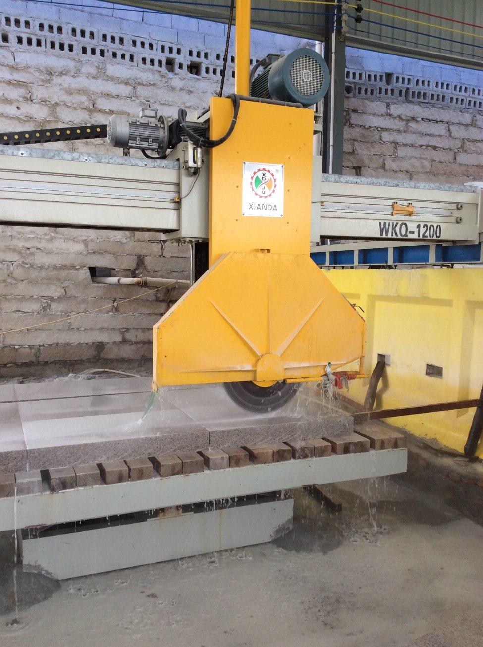 Middle Block Stone Cutting Machine & Stone Machine & Bridge Saw
