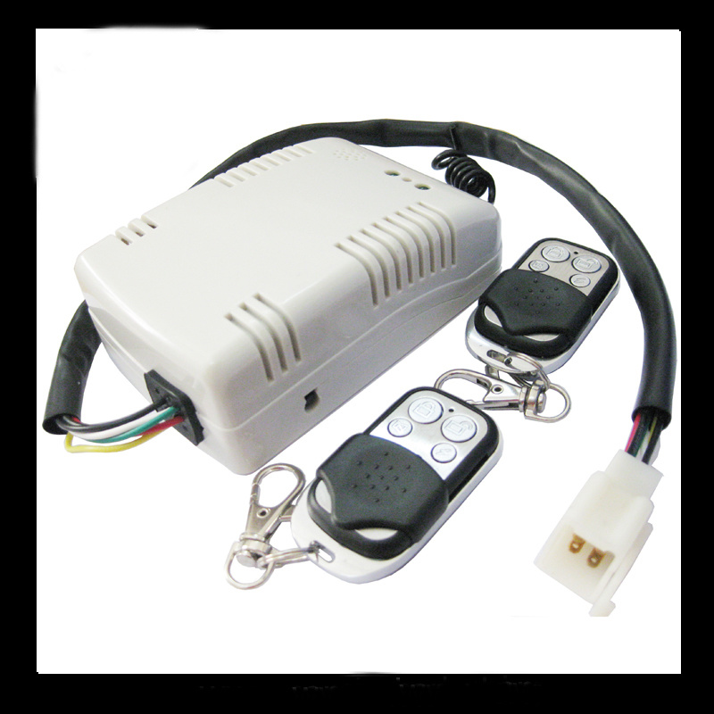 2 Channel Rolling Code Remote Controller for Garage Door with Plastic and Iron Case