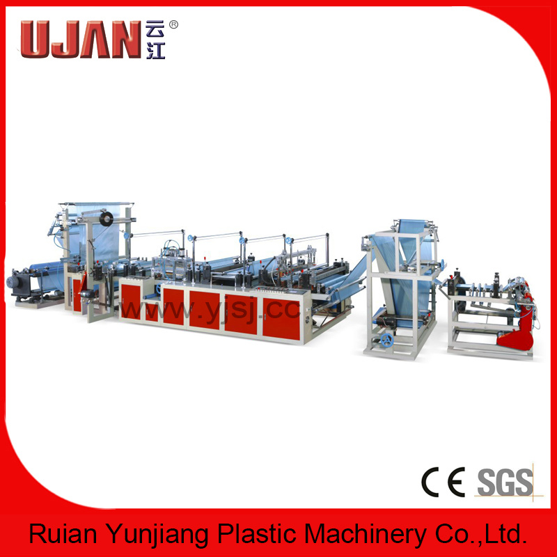 Ribbon Through Rolling Bag Making Machine