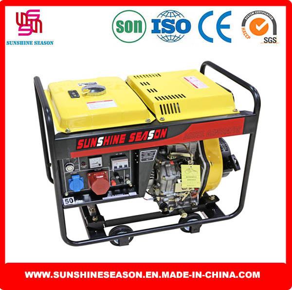 5kw Open Type Diesel Generator 6500e